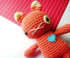 Crochet kitten doll