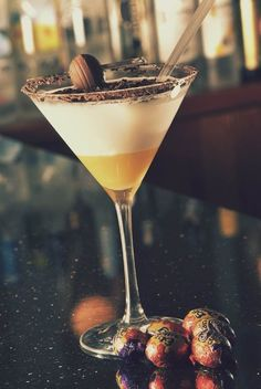 Cadbury's Creme Egg cocktail. | 15 Unique Easter Recipes That Are Actually A Breeze To Prepare