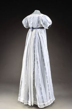 Dress ca. 1814 From Historic Deerfield Museum