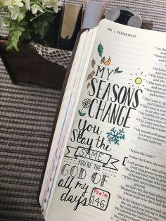 53 Ideas For Quotes Bible Verses Psalms Art Journaling Bible Drawing, Bible Doodling, Drawing Quotes, Drawing Ideas, Psalm 16, Bible Notes, Bible Scriptures, Cute Bibles, Bibel Journal