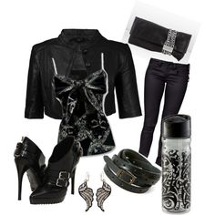 Biker Fashion Motorcycle Style Leather Outfits Edgy Attitude