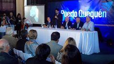 LAVOZ DEL QUEQUEN : López, presente en la asunción de Rojas en Puerto ...