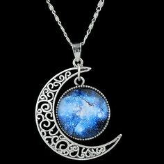 GET $50 NOW | Join RoseGal: Get YOUR $50 NOW!http://www.rosegal.com/necklaces/delicate-women-s-faux-gem-moon-round-pendant-necklace-484315.html?seid=2275071rg484315