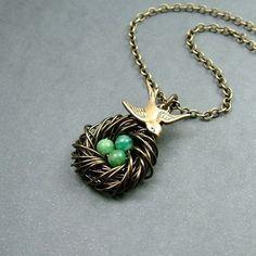Love bird jewelry :)