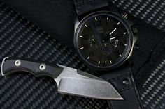 Dervish Knives  Silverfish... and cool watch. :)