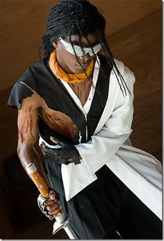 Bleach..(東仙 要, Tōsen Kaname) formerly the Captain of the 9th Squad