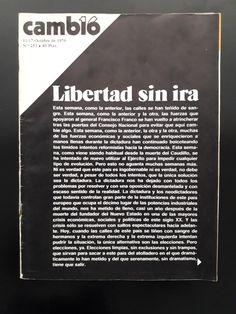 Revista que hizo historia. Que cuenta parte de la historia. Y que ahora conservamos con otras piezas de la historia. #cambio16 #libertadsinira