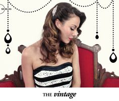 3 new Vintage Hair-dos, part of our #UntamedPetals x #SBbeauty bridal collab!