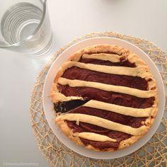 Tempo di merenda: la crostatina alla crema di nocciole