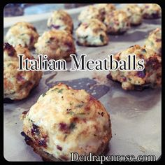 Deidra Penrose, 21 day fix recipes, fixate cookbook recipe, healthy  italian meatball recipes, turkey meatball