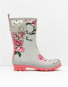 Super cute Joules rain boots - MOLLYMid-Height Printed Rain Boot