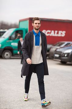 street style, men