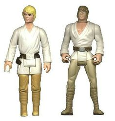 Finaly men can live up to unreal body standards too! Luke Skywalker in 1978 and now.