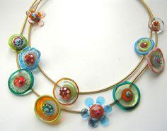 anat sapir - glass jewellery design