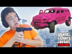 COCHES BLINDADOS VS LANZACOHETES - Gameplay GTA 5 Online Funny Moments (GTA V PS4) - YouTube