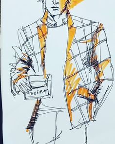 For those of us who put effort into our style, we know that it's in the details that fashion is set apart. Zane knew this very well. He loved being on point... #man #illustration #sketch #ink #drawing #copicmarker