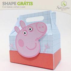 Shape da semana 24 Silhouette Brasil - Cixa Peppa Pig By Nilmara Quintela