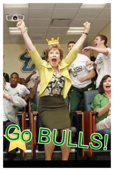 USF President Judy Genshaft's reaction to hearing the 2011-2012 Mens Basketball team earned a spot in the NCAA Tourney