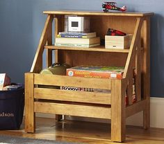 for the playroom or small kitchen area  Kendall Storage Console #PotteryBarnKids