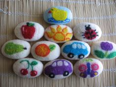 felted soaps | Flickr - Photo Sharing!