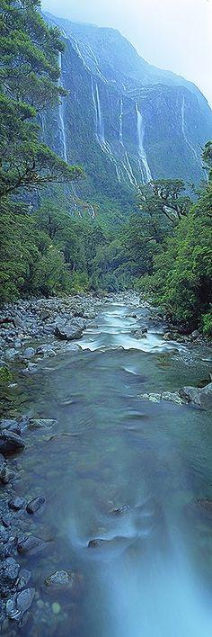 Fiordland National Park, New Zealand's South Island...