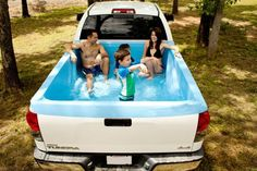 This Portable Swimming Pool Turns Your Pickup Truck into the Ultimate Chill Zone - BestProducts.com
