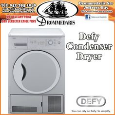 With 15 different programs and an auto anti-creasing function this Defy Condenser dryer is any persons dream for the winter. Visit us in store to find out more about this unique design. #lifestyle #homeimprovement