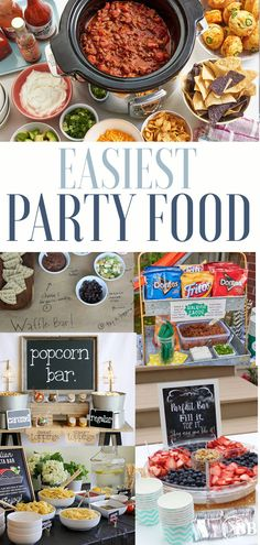 These easy party platters and party buffets can be prepped and ready to roll in less than 30 min and are chosen specifically to be able to fit within your weekly food budget so you can host as many parties as you want on any budget... even if you don;t have a lot of free time to prep. #partyplatters #foodbar Party Food On A Budget, Cheap Party Food, Party Food Buffet, Easy Party Food, Cheap Party Ideas, Bbq Food Ideas Party, Fall Party Ideas, Party Food Bars, Food Budget