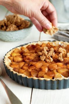 Apple Pie, Muffin, Breakfast, Desserts, Food, Peach Jam, Cake Recipes, Meals, Apple Cakes