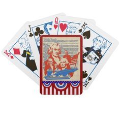 We the People... Playing Cards
