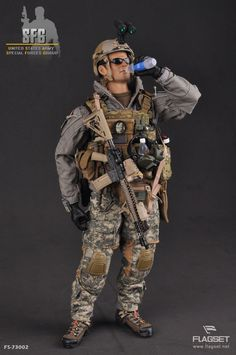 FLAGSET - 1/6 U.S. ARMY SFG FIGURE - is this real? - OSW: One Sixth Warrior Forum