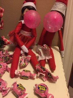 HUBBA Bubba elves! #elfontheshelf