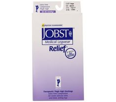 7e6a3eda042 Jobst 30-40 Thigh Hi Relief With Silicone Dot Band Stockings