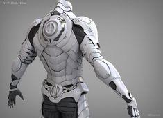 ArtStation - SiFi Character Armor, Kyunghwan Lim