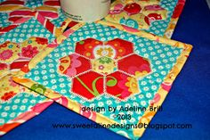 SweetAline Designs...I like this take on Crazy for Hexagons