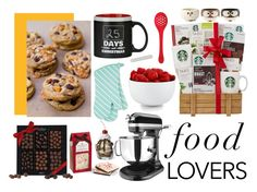 """For all food lovers out there"" by nikki15649 ❤ liked on Polyvore featuring interior, interiors, interior design, home, home decor, interior decorating, KitchenAid, The Cellar, Chef'n and giftguide"