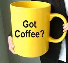 Take a break - a big coffee break :) Coffee Cup Art, Big Coffee, Real Coffee, Coffee Heart, Cute Coffee Mugs, Coffee Corner, Coffee Cozy, I Love Coffee, Coffee Break