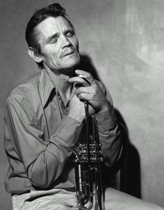 Chet Baker (1929-1988) - American jazz trumpeter, flugelhornist and vocalist. Photo Bruce Weber