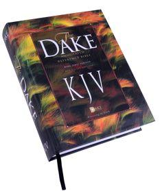 Dake kjv bonded leather dake annotated reference bible books and dake hardback annotated reference study bible the dake three column kjv bible has 2 columns fandeluxe Choice Image