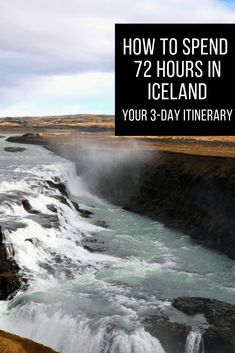 72 Hours in Iceland - What to See, Eat and Do in 3 Days Top Travel Destinations, Europe Travel Guide, Iceland Travel, Places To Travel, Best Travel Guides, 72 Hours, European Travel, Family Travel, Adventure Travel