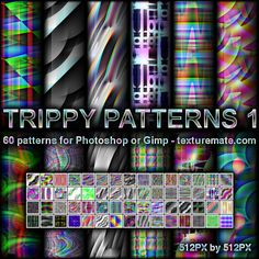 Free Patterns: Trippy Patterns 1 | AscendedArts