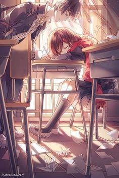 Marvelous Learn To Draw Manga Ideas. Exquisite Learn To Draw Manga Ideas. Couple Manga, Anime Love Couple, I Love Anime, Girl Couple, Anime Plus, Anime Lindo, Image Manga, Kagerou Project, Anime People