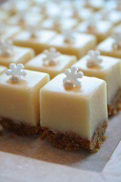 Baking my dream cakes: Tee itse joulukarkit: Piparkakku-valkosuklaafudge
