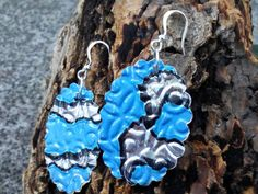 handcrafted Soda Can Earrings one-of-a-kind earrings let your style stand out from the crowd