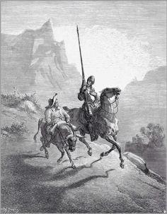 Illustrations to Don Quixote