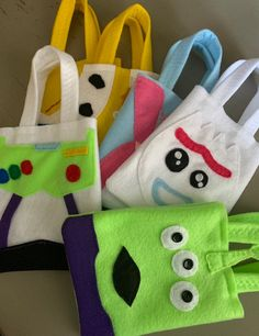TOY STORY PARTY / sentenyó party favor bags / for boys and girls / Set of 6 party bags Toy Story Dulceros, Toy Story Theme, Toy Story Birthday, Toy Story Party, Cumple Toy Story, Festa Toy Story, Party Favor Bags, Goodie Bags, Jessie And Buzz