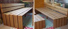 DIY Outdoor Lounge