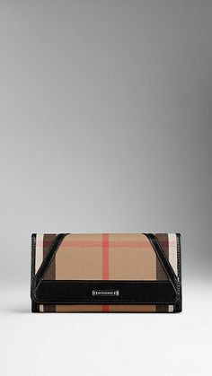 3c7b2bd5992 Bridle House Check Continental Wallet | Burberry Wallets For Women, Card  Case, Continental Wallet