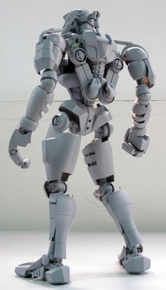 Super Punch: Real Steel figure by Toys Gundam, 3d Printed Robot, Box Robot, 3d Cnc, Ashley Wood, Real Steel, Metal Toys, Robot Design, Custom Action Figures