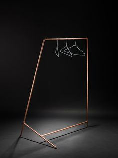 DIY Coat Rack - Minimalissimo DIY is an original and beautifully simple coat rack developed by the Austrian product designer Philipp Divitschek, based in Vienna.